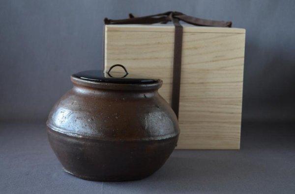 Photo1: Mizusashi, Old Karatsu pottery (1)
